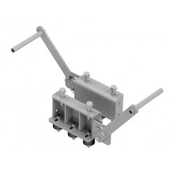 Fastening holder on isolation studs for pulley with support Ø 300 to 600 mm - OCTÉ